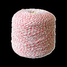Шпагат для колбас хб бело-красный Бухта 2,2 кг